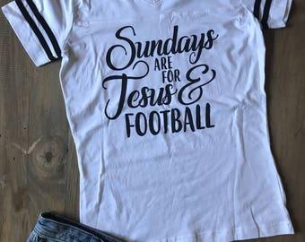 Sundays Football Jersey Stadium Tee