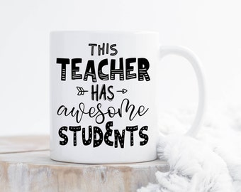 Teacher Mug,Teacher Gift, From Students,Funny Teacher Mug,Teacher Appreciation Gift,Funny Teacher Gift,Preschool Teacher,Back To School Mug
