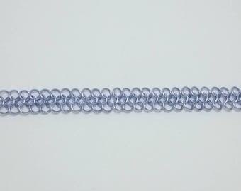 Bright Purple Chain Maille Bracelet (4-in-1)