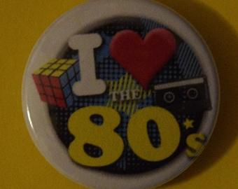 I love 80's Magnet 1.5