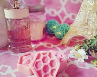 Vanilla Mandarin Bourbon/Vanilla Orchid Almond BLEND Beeswax Melts Soy Wax Melts Blend Wax Melts