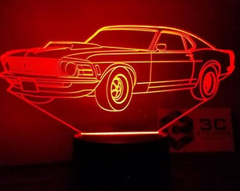 1969 Ford Mustang LED Display