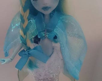 AMATHEIA - Custom ooak monster high repaint
