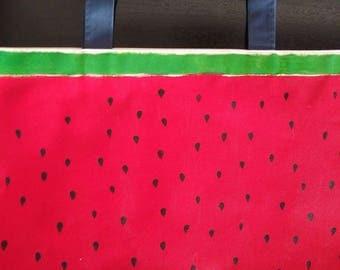 Watermelon Canvas Bag