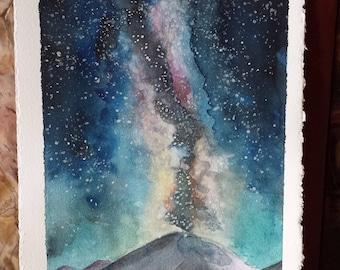 "Nature Watercolor 5"" x 7"""