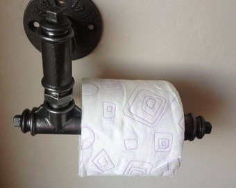 Industrial cast iron toilet paper dispenser