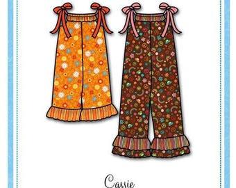 Bonnie Blue Cassie Play Suit Pattern