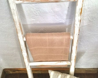 Blanket Ladder | Quilt Ladder | 4ft. Ladder | Towel Ladder | Rustic Ladder | Decorative Ladder | Farm House Ladder