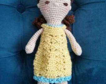 Ellie crochet doll