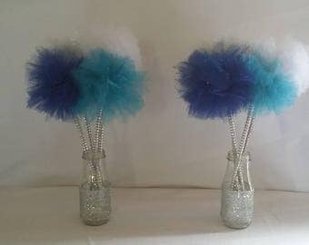 Tulle Pom Favors
