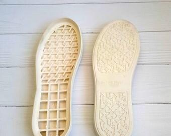 Shoe Rubber Soles *Slipper Soles *Crochet Shoes * Boots Soles * Soles White * Outdoor soles