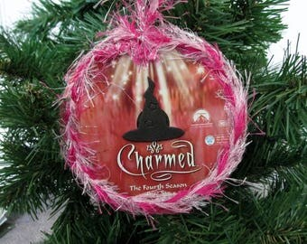 Charmed Christmas Ornament Upcycled TV Show DVD #14