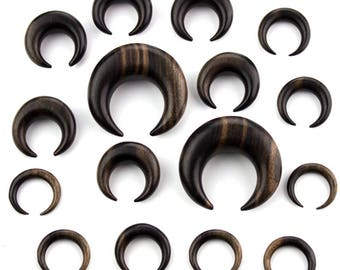 Organic Areng Wood Septum/Ear Pincher 4g (Pair or Single)