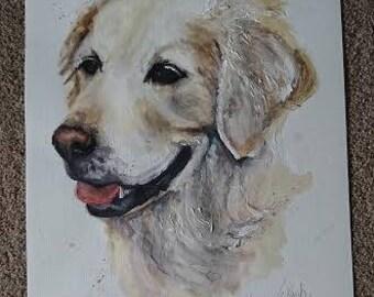 Pet Portrait / Pet Drawing / Painting of your pet / Pet Commission / Animal Drawing / Sketch of your pet