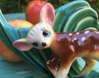 1950s Japanese Deer Planter