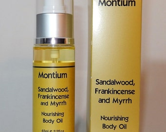 Sandalwood, Frankincense and Myrrh Nourishing Body Oil