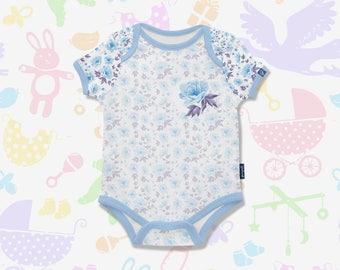 Roses Baby Onesie,Baby Bodysuit,Roses Bodysuit,Rose Baby Bodysuit,Trendy Baby,Baby Clothes,Personalized Custom,Baby Shower Gift