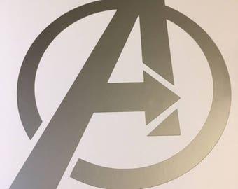 Avengers Logo Vinyl Decal