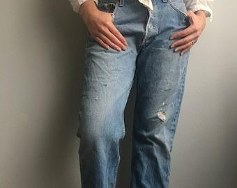 Vintage Levi's Distressed 501s Jeans