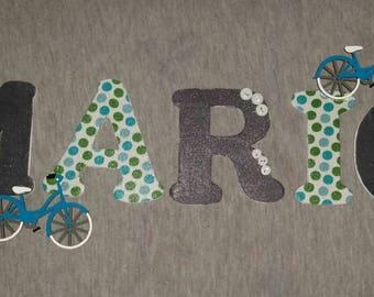 Custom Wood Letters, Boy/Girl Nursery, Boy/Girl Bedroom Decor