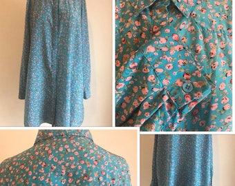 80's Oversized Blouse (S/M/L)