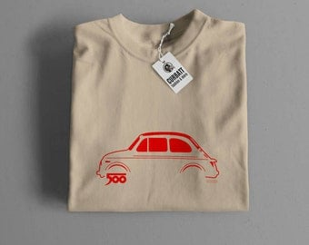 T-shirt Fiat 500 1957 | Gent, Lady and Kids | all the sizes | worldwide shipments | Car Auto Voiture