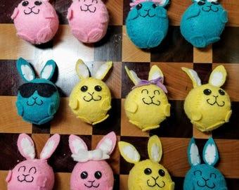 All Natural Wool Felt Bunny Rabbit - Springtime - Easter