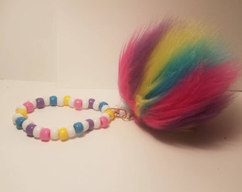 Rainbow kandi single