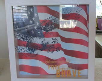 Patriotic Shadow Box