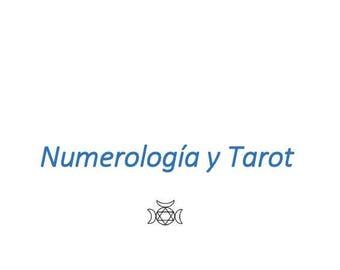 Numerology and Tarot Course cleromancy / Curso de Numerología y Tarot - Aprende el Tarot a través de los números Tarot through numbers