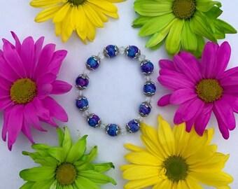 Beaded Galaxy Bracelet