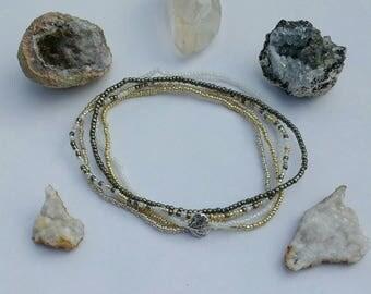 Metallic Anklet Set