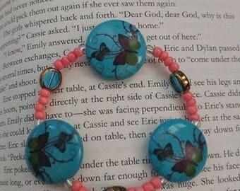 Butterfly Beaded Bracelet