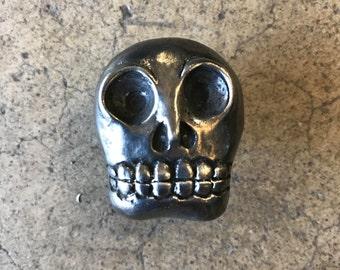 Sugar skull knob | Etsy