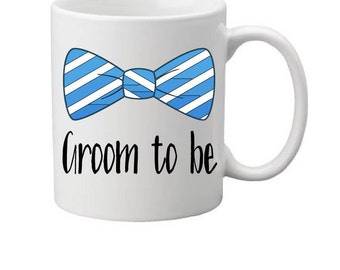 groom to be mug,groom gift,groom mug,gift for groom,bridal party gift,wedding party gift,couples gift,best man,Groom Party,gift for him