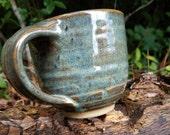Handmade 11 oz Pottery mug