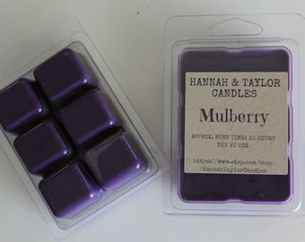 Mulberry Wax Melt | Handmade Wax Tart | Mulberry Scented Wax Tart | Housewarming Gift | Mulberry Candle