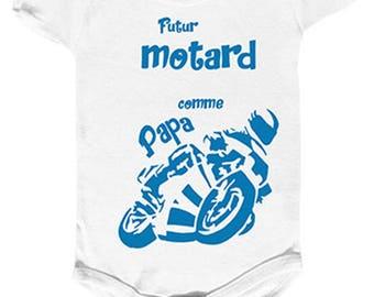 """future rider like Daddy"" Bodysuit"
