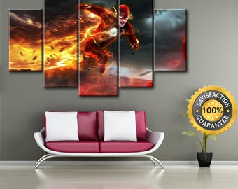 Dc Comics Wall Art comic wall art | etsy