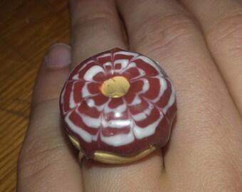 Gourmet Chocolate donut ring