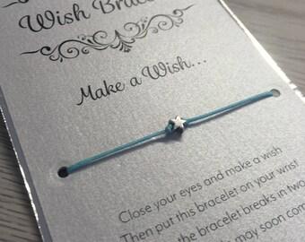 Make A Wish Bracelet, Charm Bracelet