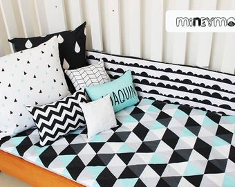 Modern Baby Crib Bedding