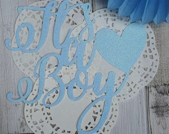 Its a Boy (non personalised)  Cake Topper - Baby Shower
