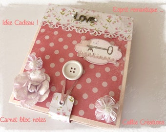 Notebook set * romantic and useful gift idea