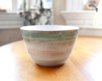 Hand-Thrown Stoneware Bowl | Original Design | Dancing Stars | Medium Bowl