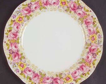 Royal Albert Dinner Plate, Bone china, rare and coveted pattern