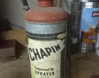 Vintage compressed air sprayer