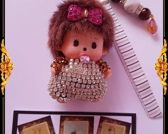 Mini kiki door keys or bag charm