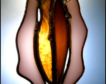 Stained Glass Vulva #1