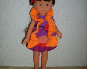 Scarf crochet for doll paola reina and corolle dear